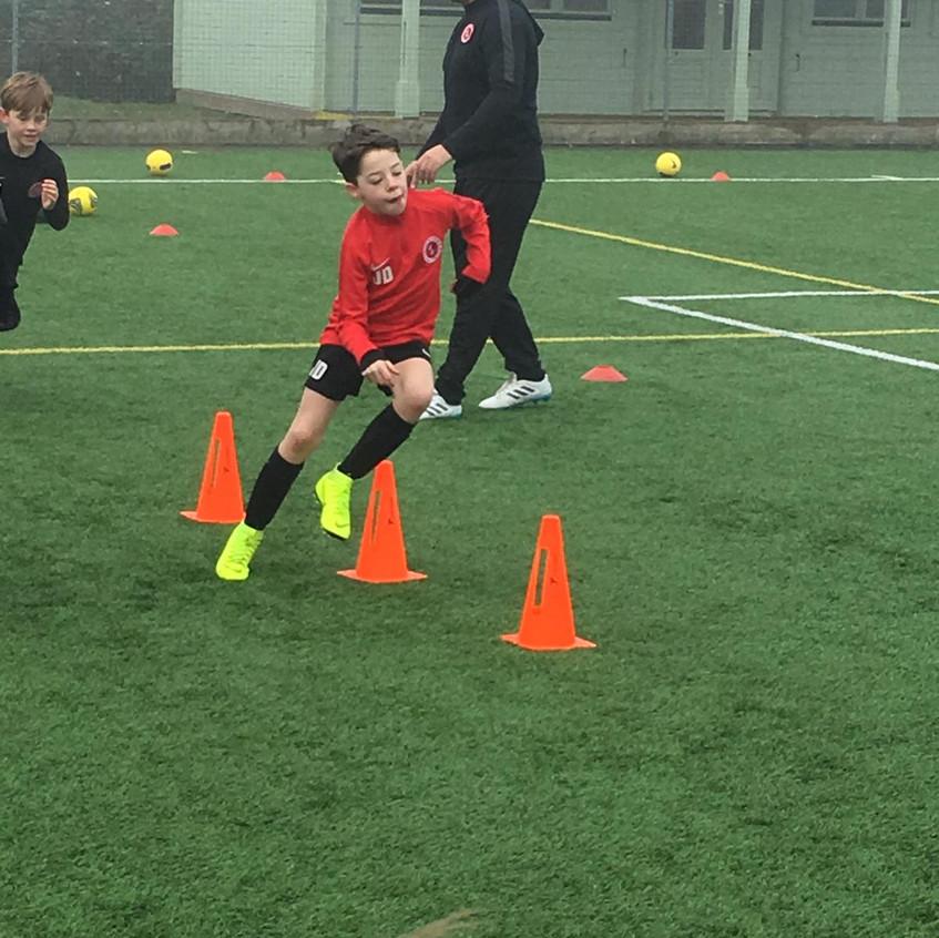 Football training at FB11
