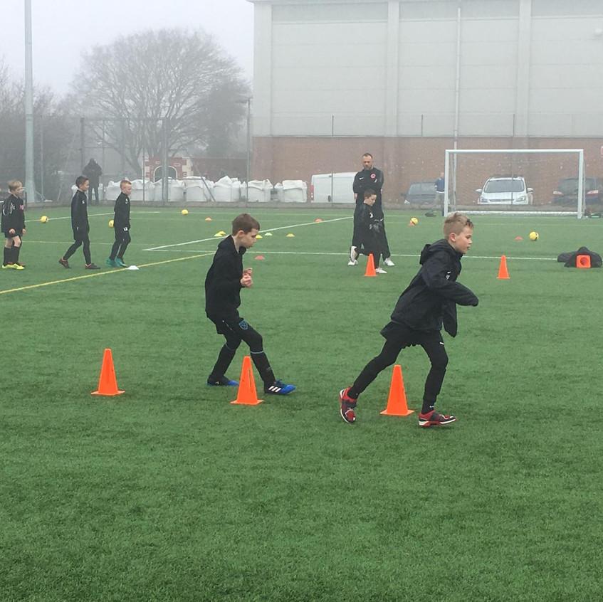 Football training at FB10