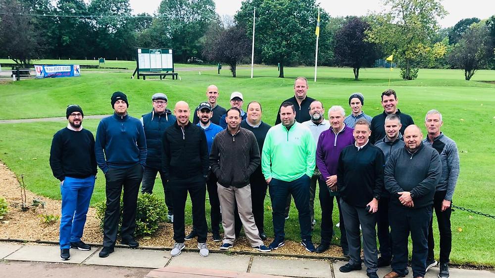 Byron golf day players