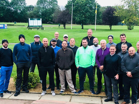 Roaring success for our Golf day!