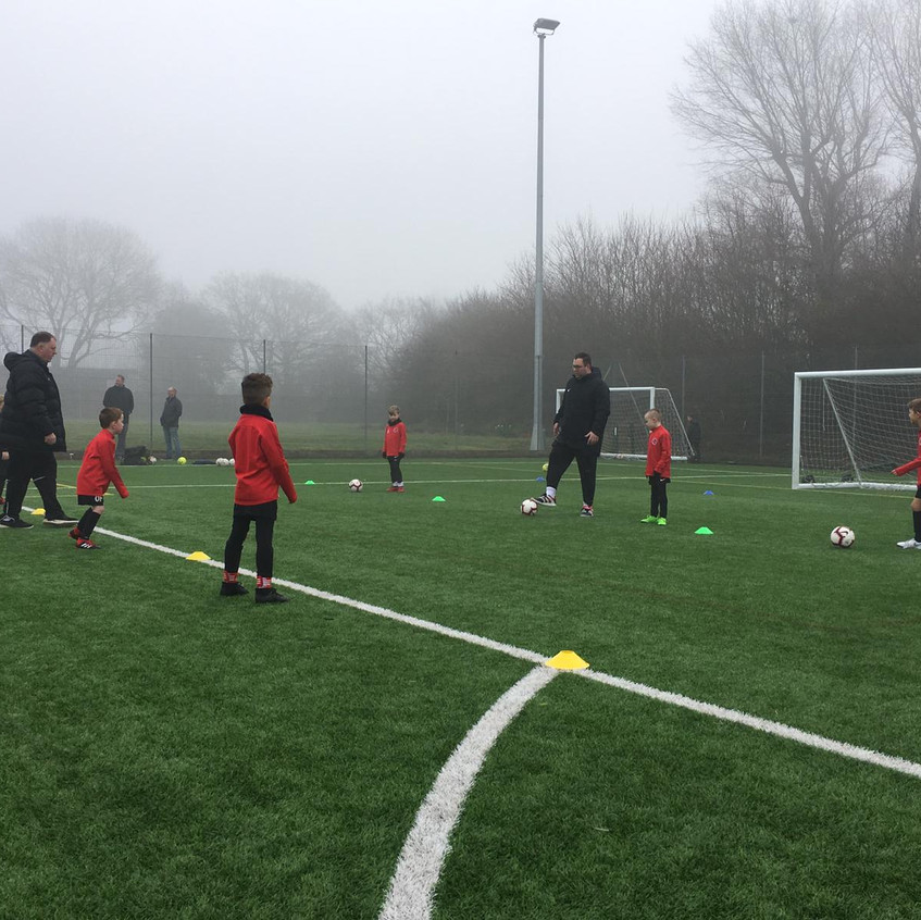 Football training at FB7