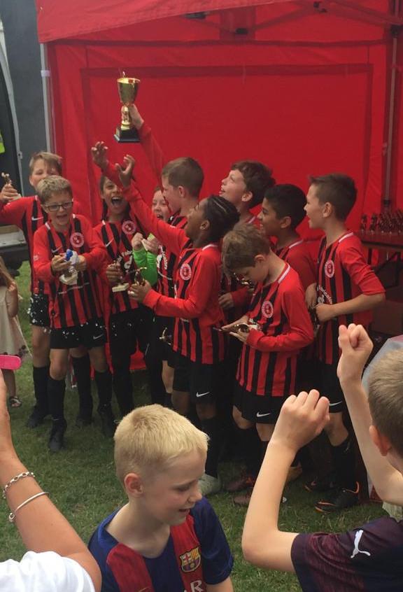 U9 Hawks team winners