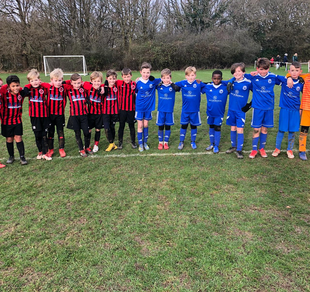 Byron U9 Eagles & Billericay Blue