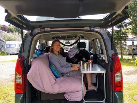 The Van Plan 2- Sleeping