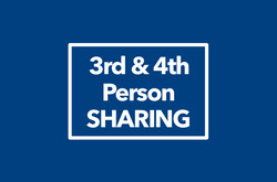 3rd & 4th Person Sharing