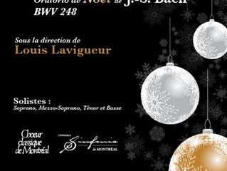 L'«Oratorio de Noël» de J.S. Bach