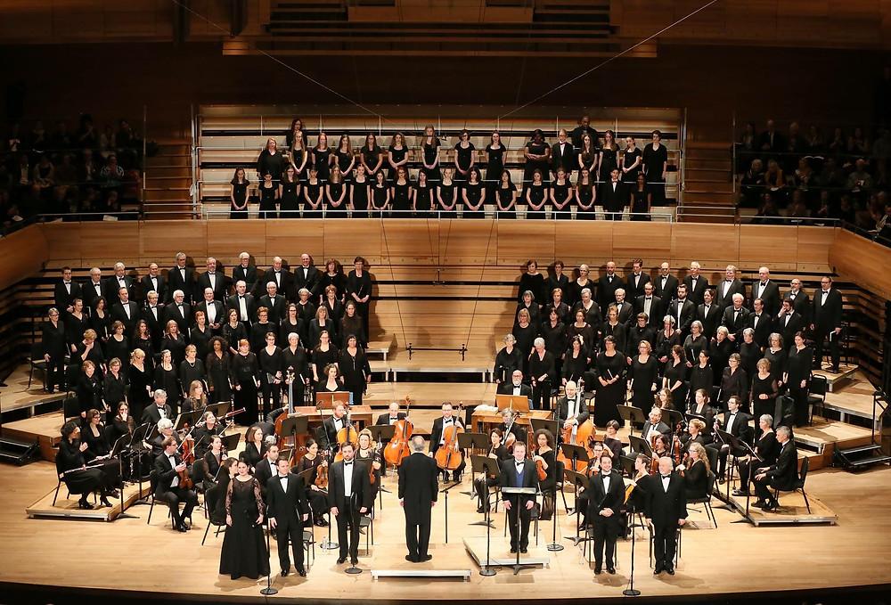 Ensemble Sinfonia de  Montreal avec le Choeur Classique de Montreal