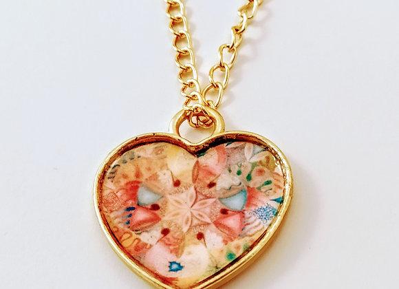שרשרת פרח הלב