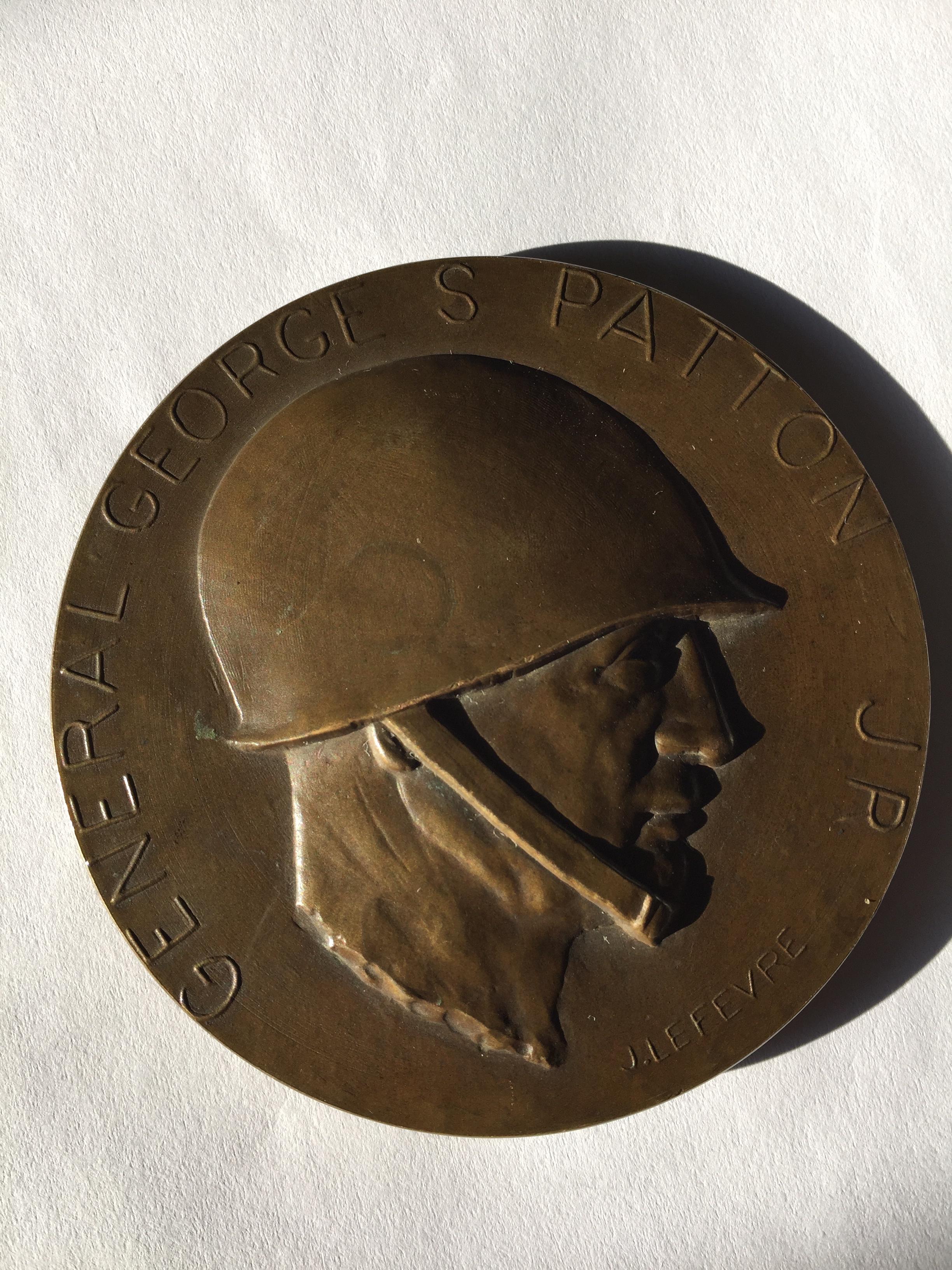 Médaille george patton