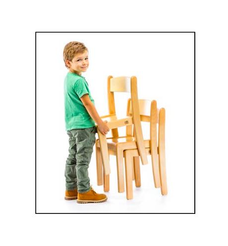 Lower Elementary (5 - 8 Yrs) CHAIR Solid European Beech Wood