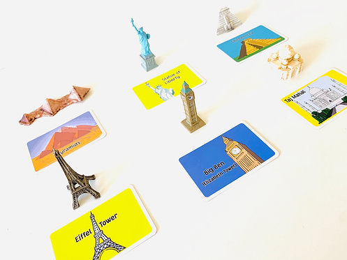 Montessori Language Around The World Figurines Collection