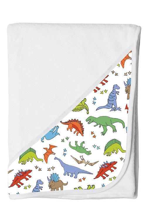 Hooded Toddler Towel - Dinosaur