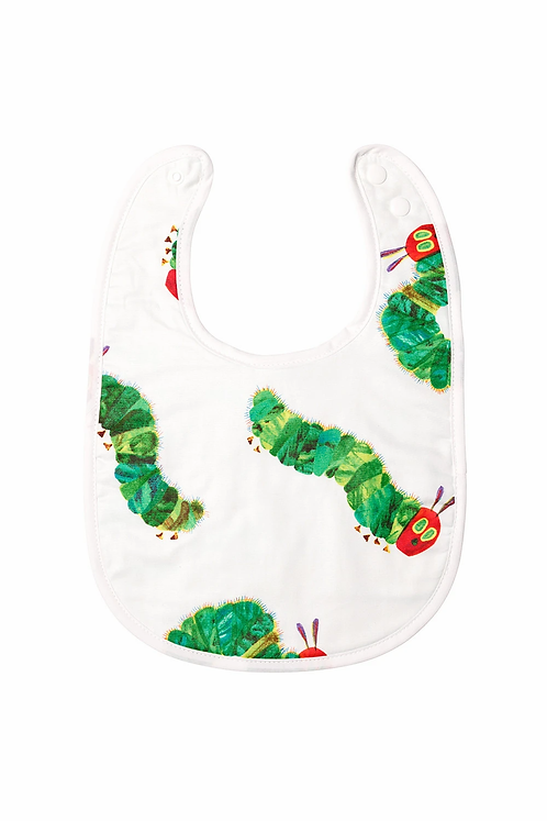 Bamboo Baby Bib - Very Hungry Caterpillar