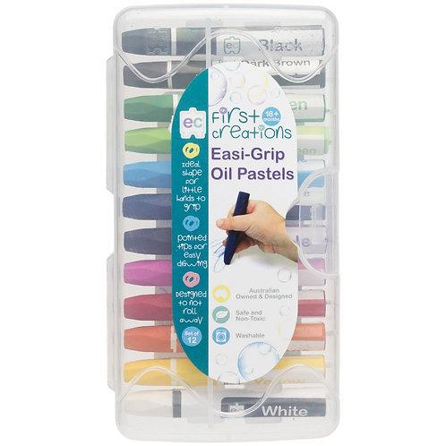 Easi-Grip Oil Pastels 12 Pack