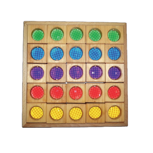 Bauspiel Discovery Kaleidoscope Blocks - 25 Piece