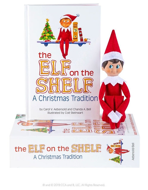 Elf On The Shelf: A Christmas Tradition (Boy)