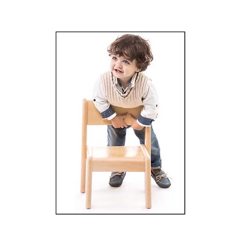 Montessori toddler (12 - 36 months) CHAIR solid European beech wood