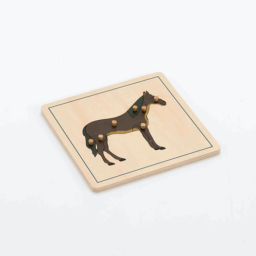 Horse Wooden Puzzle