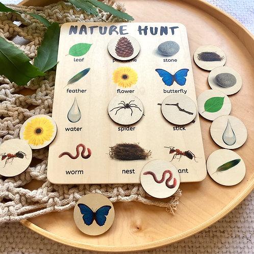 Nature Hunt Real Life Activity Board