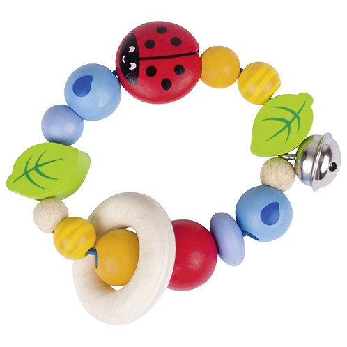 Goki Touch Ring Elastic Ladybird