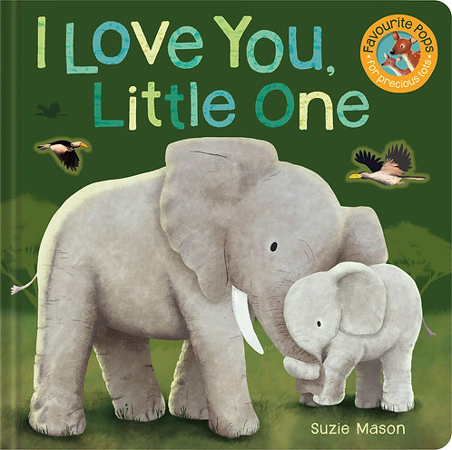 Pops for Tots: I Love You, Little One (Board Book)