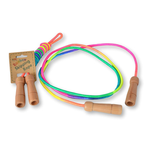 Daju Skipping Rope - Adjustable Length with Wooden Handles