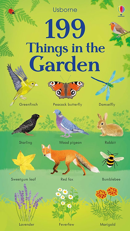 199 Things in the Garden (Board Book)