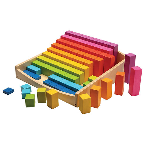 Goki Stepped Counting Block Set
