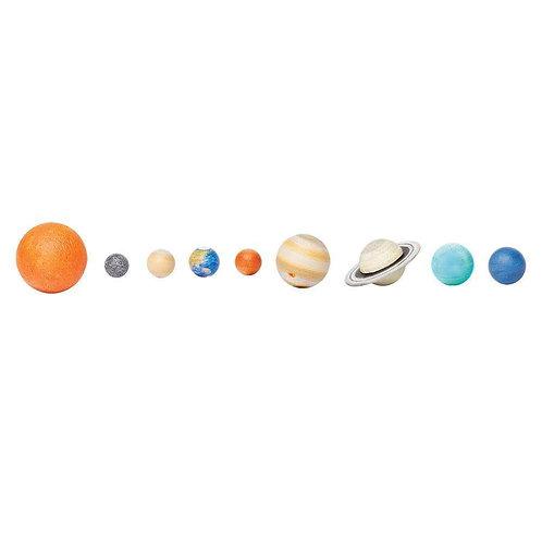 Solar System Montessori Language Figurines Collection