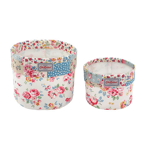 Set of 2 Storage Baskets - Wells Rose