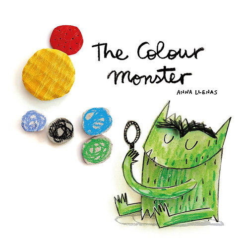 The Colour Monster (Board Book)
