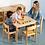 Thumbnail: Montessori toddler (12 - 36 months) activity TABLE European Beechwood 60 x 80cm