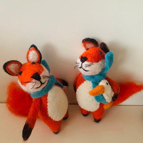 Felt Fox - Set of 2
