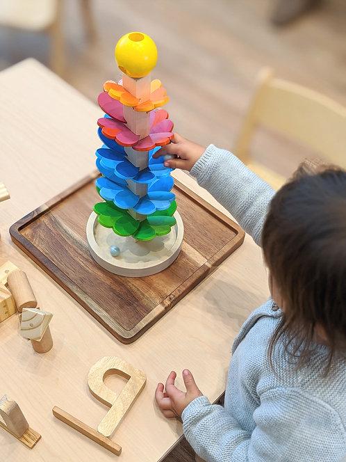 Goki Pagoda Marble Run Game