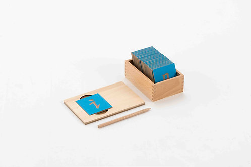 Wooden Chinese Radical Tracing Card Set 1