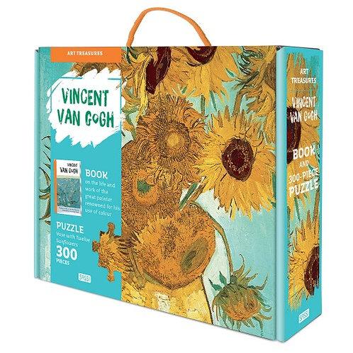 300 Piece Vincent Van Gough Puzzle and Book