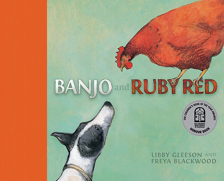 Banjo and Ruby Red (Board Book)