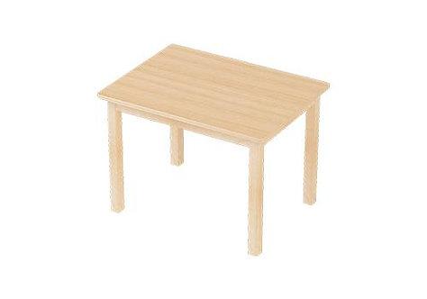Preschooler (3 - 5 Yrs) Activity TABLE Solid European Beech Wood 60 x 80cm
