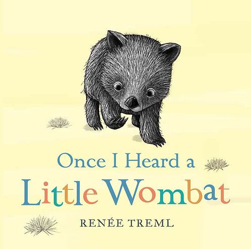 Once I Heard a Little Wombat (Board Book)