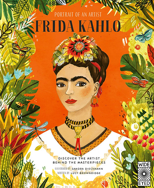 Portrait of an Artist: Frida Kahlo (Hard Cover)