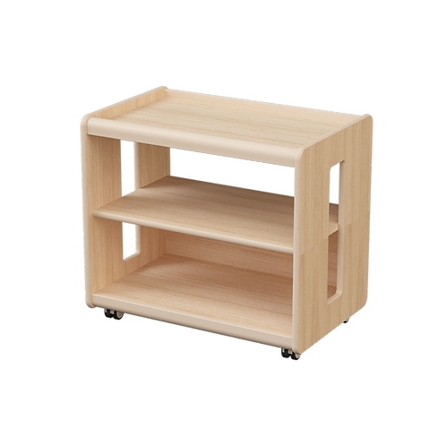 Ultimate Shelving Unit 70 x 45 x 61 cm Solid Beech Wood