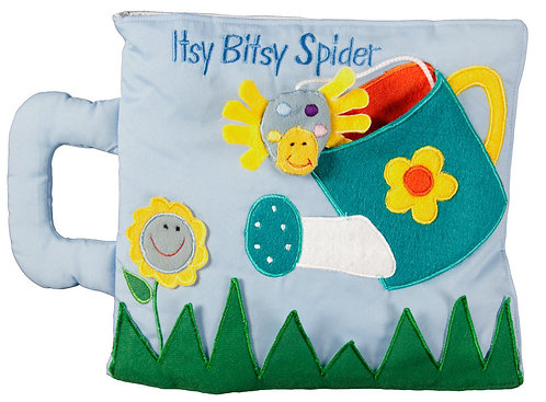 Itsy Bitsy Spider Fabric Book