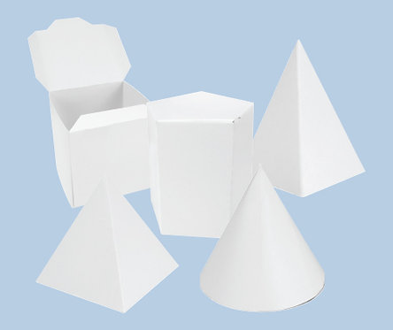 Cardboard Art/Maths Boxes 6's