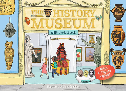 A Lift-the-Flap Book: The History Museum (Board Book)