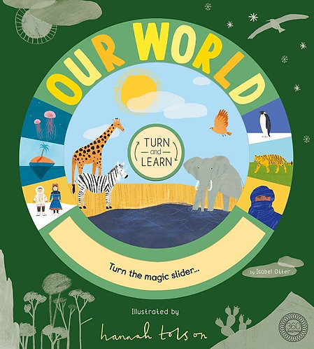 Turn and Learn: Our World (Hardcover)