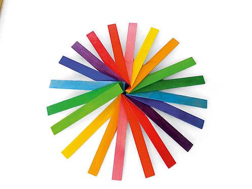 Bauspiel Coloured Rods
