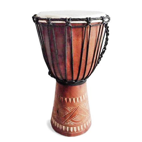 Hand made Djembe Drum - 30cm
