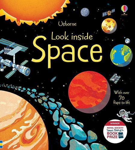 Look Inside Space (Board Book)