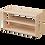 Thumbnail: Ultimate Shelving Unit 103.5 x 45 x 62 cm Solid Beech Wood
