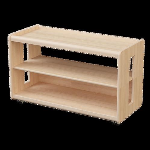 Ultimate Shelving Unit 103.5 x 45 x 62 cm Solid Beech Wood